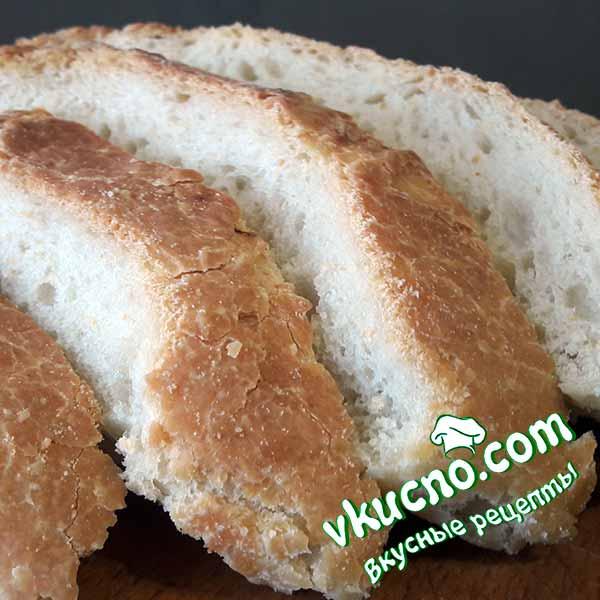 Домашний хлеб на кефире в духовке