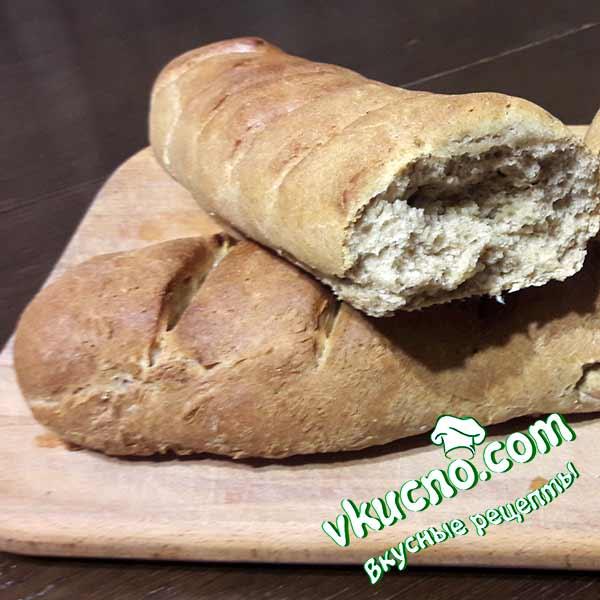 Домашний ржаной хлеб в духовке