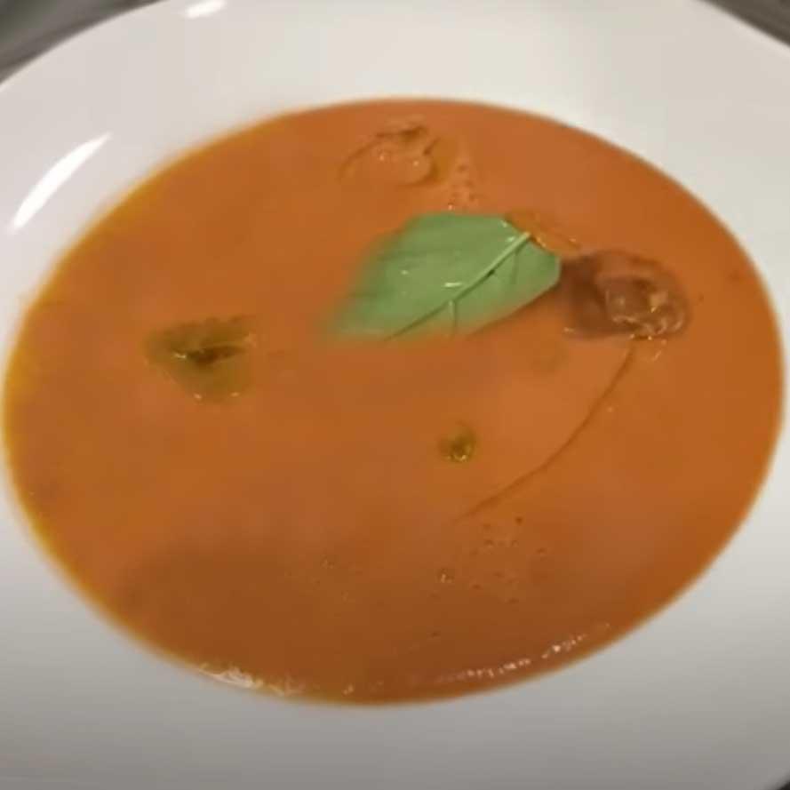 Гаспачо классический томатный суп (холодный)