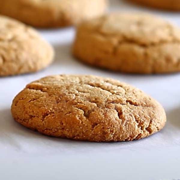 Шоколадно-ореховое печенье с имбирем